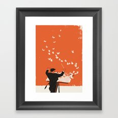 Managing Change Framed Art Print