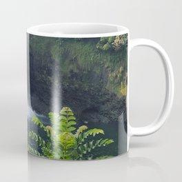 Rainbow Falls in Hawaii Coffee Mug