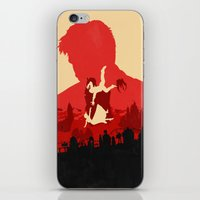 bioshock infinite iPhone & iPod Skins featuring Bioshock Infinite by Bill Pyle