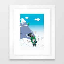 Tiny Giants Framed Art Print