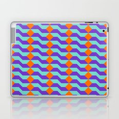 Tricolor Steps Orange Purple & Teal Laptop & iPad Skin