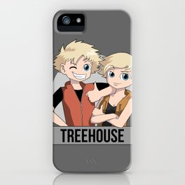 Treehouse: Meet the twins iPhone Case