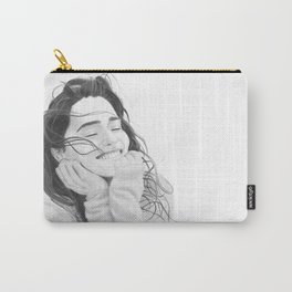 Smiling Emilia Clarke Carry-All Pouch