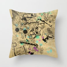 My Broken Dreams Throw Pillow