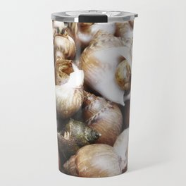 texture of sea snails Travel Mug