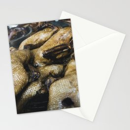 Peking duck Stationery Cards