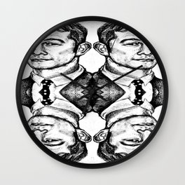 Joseph Gordon-Levitt collage Wall Clock