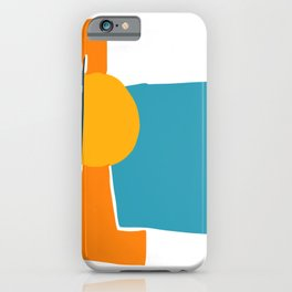 beutiful sunset summer scenery abstract artwork iPhone Case