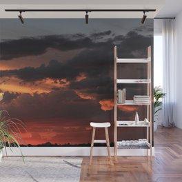 Desert Mountain Sunset XII Wall Mural