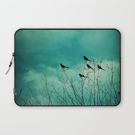 Like Birds on Trees Laptop Sleeve