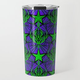 Starfire Kaleidoscope (Acid Comet) Travel Mug