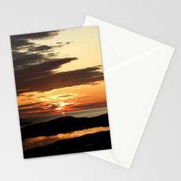 Swallowing midnight sun: darkness is coming Stationery Cards