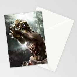Zombie Walkers of The Living Dead Stationery Cards