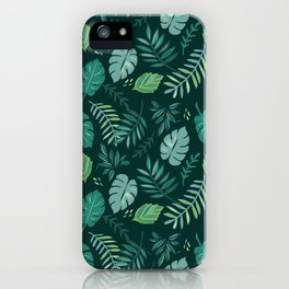 Leafy Palms iPhone Case