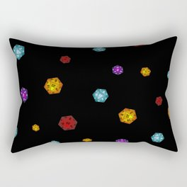 D20 Dice Rectangular Pillow
