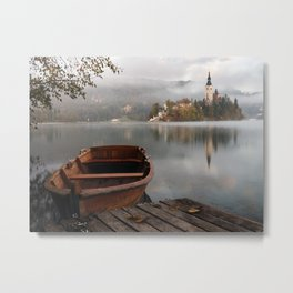 Bucolic landscape Metal Print