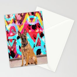 Georg Likes to Boogie Stationery Cards