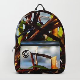 Sea Grass on the Beach Backpack