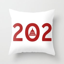 Washington D.C. Pride Throw Pillow