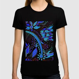 indigo fire T-shirt