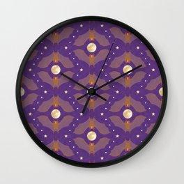 Itty Bitty Bats - Twilight Wall Clock