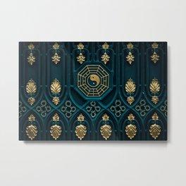 Yin Yang Art Metal Print