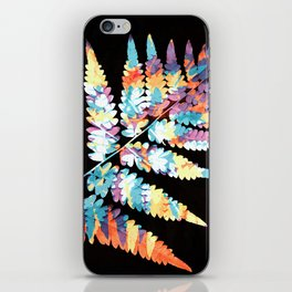 Fern in disguise - autumn iPhone Skin
