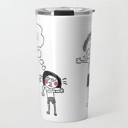 "Oh no! - ""Malice of Alice"" Travel Mug"