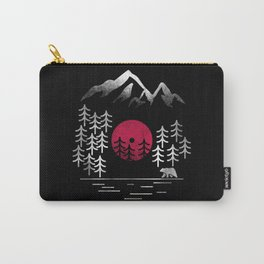 Vinyl Nature Carry-All Pouch