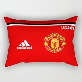Lukaku Edition - Manchester United 2017/18 Rectangular Pillow