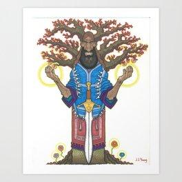 The Sword, The Branch Art Print