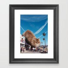 Venice Monster Framed Art Print