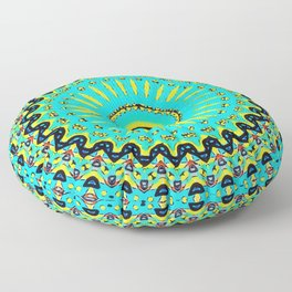 Summer Culture IV Floor Pillow