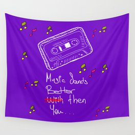 Cassette Wall Tapestry