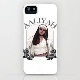 Aaliyah iPhone Case