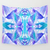 crystal Wall Tapestries featuring Crystal by Cs025