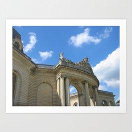 Blue in Chantilly (2008) Art Print