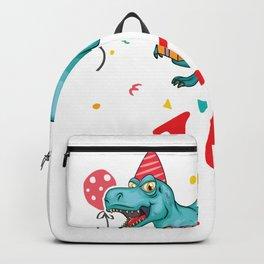 12th Birthday For Boys Dinosaur Birthday Backpack