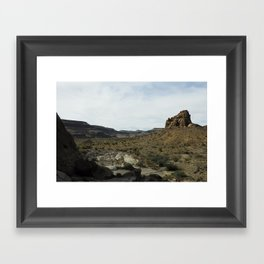 The West Framed Art Print