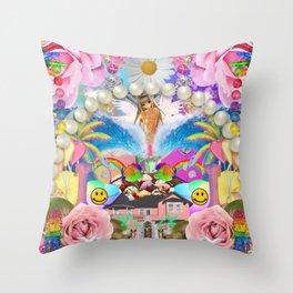 Play House Throw Pillow