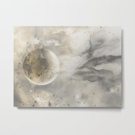Ivory Opal Metal Print