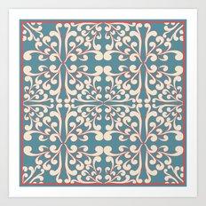 Indian Decorative design Art Print