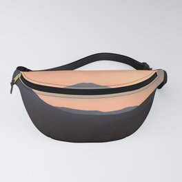 Sunset Mountain Fanny Pack