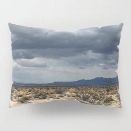 California desert under the clouds Pillow Sham
