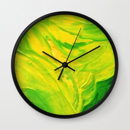 Lapeda Textile Art - 16 Wall Clock