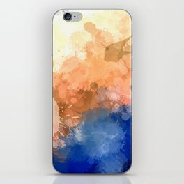 """Modern Contemporary """" Tranquility""""Abstract iPhone Skin"""