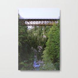 The iron bridge Metal Print