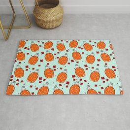 Super Canadian Maple Syrup Pattern Rug