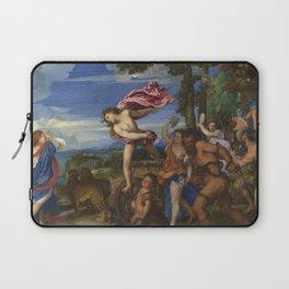 "Titian (Tiziano Vecelli) ""Bacchus and Ariadne"", 1520-1523 Laptop Sleeve"