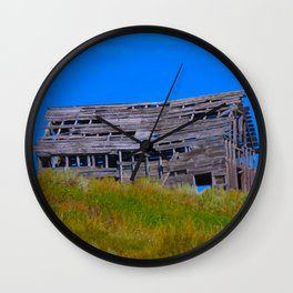 Rickety Barn Wall Clock
